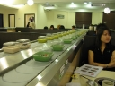 Conveyor Belt Like Sushi Restaurant