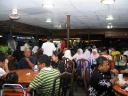 Very packed and full house during dinner time