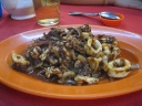 Stir Fried Calamari