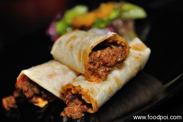 Beef Wrapped In A Tortilla
