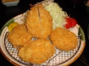 Katsu don .... Deep fried pork