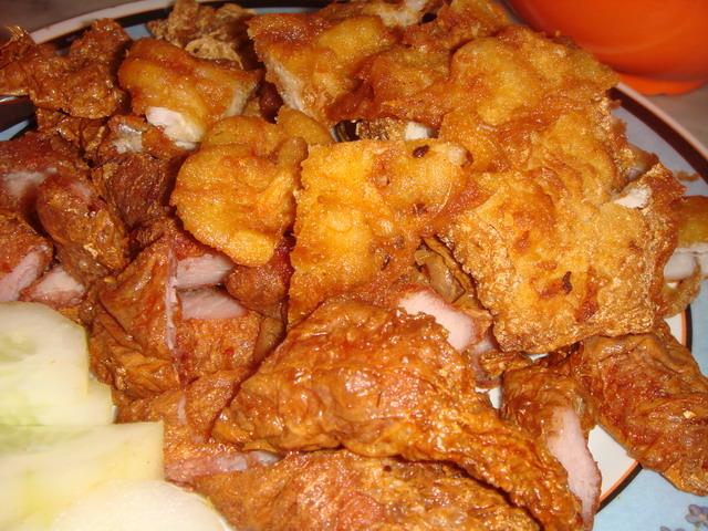 Loh Bak (Pork Roll), Prawn Fritters, Squid - Food Point of Interest